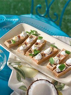 Rezeptideen Wiener Zucker Austrian Desserts, Strudel, Coconut Milk, Tacos, Mexican, Cookies, Cream, Cake, Ethnic Recipes