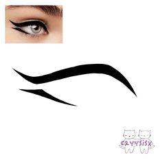 Emo Makeup, Asian Eye Makeup, Grunge Makeup, Eye Makeup Art, Makeup Inspo, Cool Makeup Looks, Creative Makeup Looks, Pretty Makeup, Eyeliner Designs