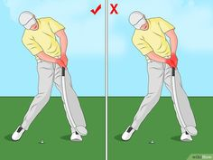 How to Swing a Golf Club. Although golf can be difficult while you're still learning proper technique, the game can be very enjoyable as you master your skills. One aspect that makes golf challenging is that even small details can have a. Golf Tiger Woods, Woods Golf, Ben Hogan Golf Swing, Golf Training Aids, Soccer Training, Golf Instructors, Volleyball Tips, Golf Day, Golf Humor