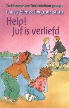 Help de juf is verliefd van Carry Slee (auteur) en Dagmar Stam, Paula Gerritse (illustrators)  (middenbouw)