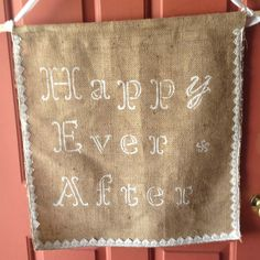 Wedding Flags And Banners Personalized Burlap Banner Flag Welcome