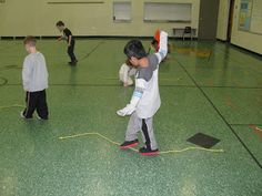 Carly's PE Games: P.E. Kindergarten Jump Rope Lesson