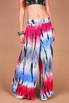 Boho Tie Dye Pants - Lounge Pants at Pinkice.com