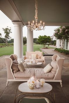 **Fancy Back Patio for the Lady of the House!