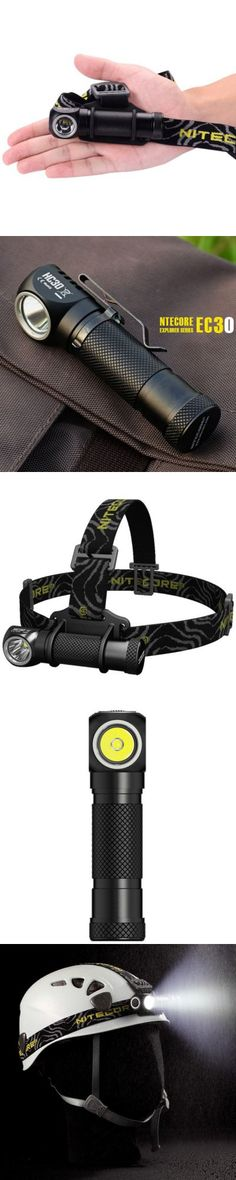 LED Flashlights | Nitecore HC30 Cree XM L2 U2 1000Lm LED Headlamp