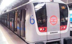 India Starts Trial For First #DriverlessTrain #metrotrain #delhimetro