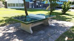 Pingpongtafel Groen bij Speelplek in Zwijndrecht