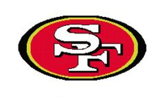 SF 49er Afghan Chart Pdf by AngelscrochetedGifts on Etsy, $4.00