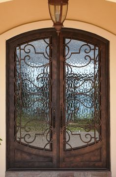 Emma: 236-1 - Cantera Doors & Courtyard Gate Lerida-106 - Wrought Iron Doors Windows Gates ... Pezcame.Com