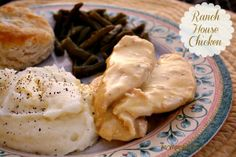 Mommy's Kitchen - Old Fashioned & Southern Style Cooking: Ranch House Crock Pot Chicken