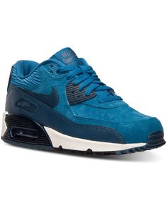 Nike Women s Air Max 90 Leather Running Sneakers from Finish Line ee44286fa