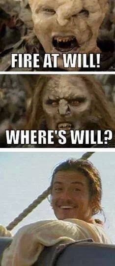 "Lord of the Rings "" Where's Will? """