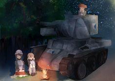 Girls und Panzer: BT-42