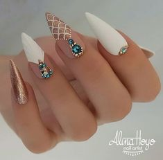 Sexy Nails, Hot Nails, Fancy Nails, Stiletto Nails, Cute Acrylic Nail Designs, Best Acrylic Nails, Nail Art Designs, Gorgeous Nails, Pretty Nails