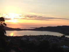 Sunrise in Florianópolis - The lagoon you see is the one where boat scene takes place at.