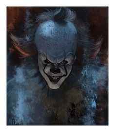 "markchilly: ""Pennywise, digital sketch """