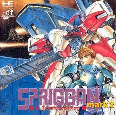 Spriggan Mark 2 - Re-terraform Project Vintage Video Games, Retro Video Games, Retro Games, Games Box, Old Games, Pc Engine, Digital Art Anime, Anime Art, Video Game Posters