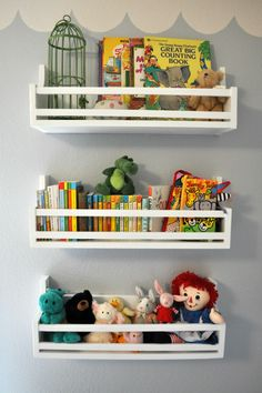 Shelves...Just how I picture...Reading Corner