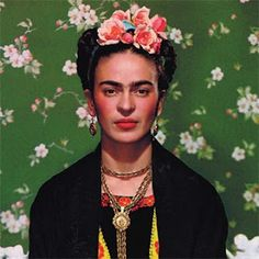 Today would've been her 105th birthday. So, happy birthday Frida!