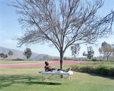 Well doesn't this look like the most relaxing thing. (Picture by Alec Soth)
