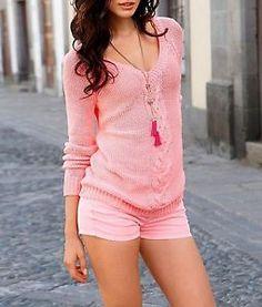 Hot Pants / Jeans Shorts von Laura Scott in pink Größe 36 (426706) | eBay