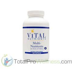 Multi-Nutrients Veg 180 Capsules