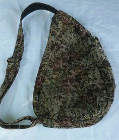 d4b8c09fb1cd AMERIBAG healthy back bag medium sling floral cloth