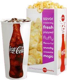 Steward of Savings : $5 Popcorn & Coke Combo Coupon at AMC Theatres for Students!