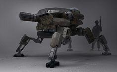ID-7 army mech patrol design by LMorse on deviantART