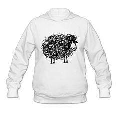 Sheep Shop668 Girl Hoodie Tshirt Casual Soft -- Awesome products selected by Anna Churchill