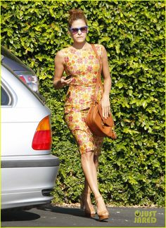 Eva Mendes Springs Into Summer