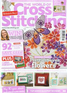 The World of Cross Stitching. I so so so want to subscribe to this magazine!