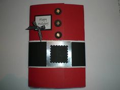 Santa Popcorn Pack by Sue Robertson - Cards and Paper Crafts at Splitcoaststampers