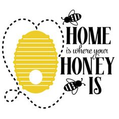 I think I'm in love with this design from the Silhouette Design Store! Bee Quotes, Bee Crafts, Paper Crafts, Cute Bee, Bee Art, Bee Theme, Bee Happy, Bees Knees, Change Quotes