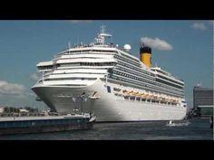 www.cruisejournal.de #Cruise #Kreuzfahrt #Abfahrthafen #Amsterdam #Costa Magica