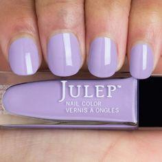 Julep ELISA Nail Color Treat Polish Boho Glam Creamy Soft Wisteria Shimmer #Julep