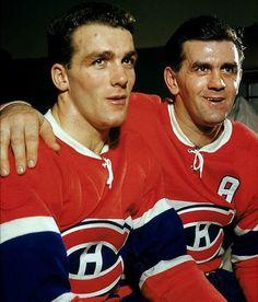 Henri et Maurice Richard, Canadiens de Montréal #histoire #habs