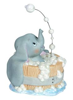 Precious Moments Disney Dumbo in Tub Figurine
