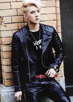 EXO-K bad boy sehun. Lol