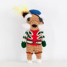 Amigurumi Crochet Sir Didymus, from Labyrinth! thebhivecreations.com