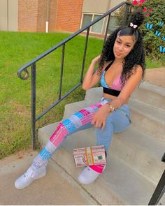Baddie Outfits Casual, Boujee Outfits, Swag Outfits For Girls, Teenage Girl Outfits, Cute Swag Outfits, Teen Fashion Outfits, Dope Outfits, Look Fashion, Preteen Fashion