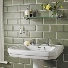 Bathroom wall tiles at Topps Tiles. Metro Tiles Bathroom, Kitchen Wall Tiles, Ceramic Wall Tiles, Wall And Floor Tiles, Bathroom Wall, Bathroom Ideas, Downstairs Bathroom, Metro Tiles Kitchen, Bathroom Purple
