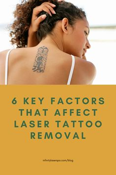 When it comes to removing an unwanted tattoo, there are not that many options available. The safest and most effective solution is laser tattoo removal. The procedure will provide great results and effectively clear your skin. Infinity Laser Spa, Laser Tattoo, Tattoo Removal, Beauty Spa, Laser Hair Removal, Things To Come, Skin Care, Tattoos, Blog