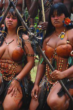 Xerente Tribe, Brazil, by Claudia Mori, via Flickr
