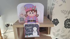 Check out this item in my Etsy shop https://www.etsy.com/uk/listing/470760202/elf-advent-card-christmas-countdown-girl