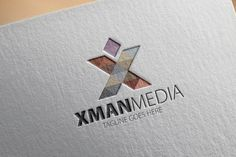 Check out Xman Media X Letter Logo by samedia on Creative Market