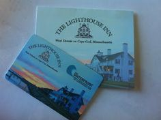 Lighthouse Inn Gift Card, redeemed at Lighthouse Inn and can be used at the Waterfront Restaurant and Lighthouse Inn Gift Shop