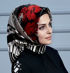 Armine Silk Hijab Scarf Fall 2015 - Winter 2016 #8985
