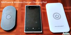 RAVPower Wireless Charger Charging Pad ad