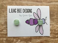 Mint Fused Glass Earrings by LilacBeeDesigns on Etsy